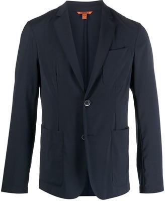 Barena Cotton-Virgin Wool Blend Triple-Patch Pocket Blazer