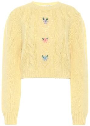 Alessandra Rich Alpaca-blend sweater