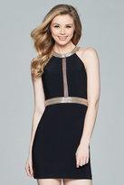 Faviana Halter Neck Sheath Dress 8073