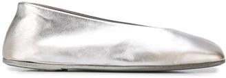 Marsèll Flat Metallic Ballerinas