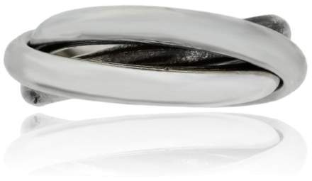 Tiffany & Co. Sterling Silver Three Rolling Rings