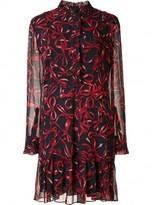 Piamita bow print dress
