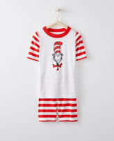 Hanna Andersson Dr. Seuss Short John Pajamas In Organic Cotton