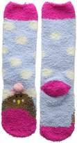 Joules Festive Fluffy Socks - Robin - S/M - UK Shoe 9-12 / EU 27-31 / US 10-13