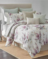 Sanderson Delphiniums 4-Pc. Printed King Comforter Set Bedding