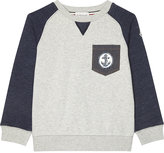 Moncler Anchor Pocket Cotton Jumper 4-14 Years