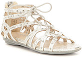Kenneth Cole Reaction Girls' Bright Ghillie Sandals