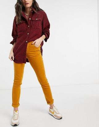 Vero Moda skinny jeans in brown