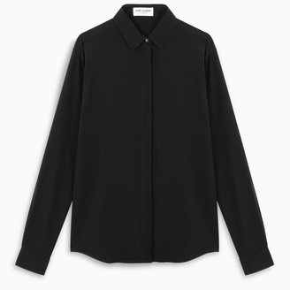 Saint Laurent Black silk shirt
