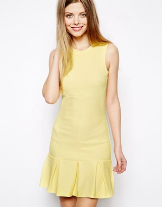 Asos Design ASOS Textured Pephem Mini Dress