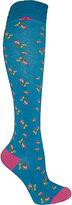 Betsey Johnson Baby Buds Knee Sock