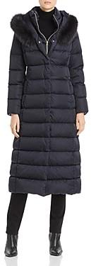 Herno Fur Trim Maxi Down Coat