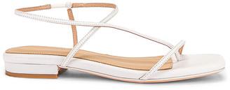 Studio Amelia 1.2 Sandal in White | FWRD