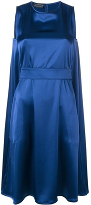 Gianluca Capannolo Belted Satin Dress