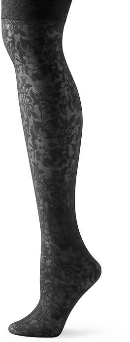 Banana Republic Over-the-knee floral lace sock