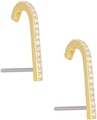 Uncommon James by Kristin Cavallari Open Bar Stud Earrings