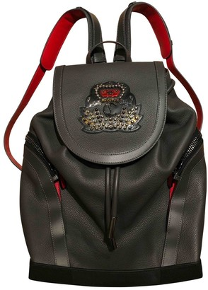 Christian Louboutin Grey Leather Bags