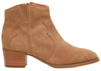 Hush Puppies Chai Camel Suede Boot