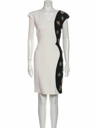 Emilio Pucci Wool Knee-Length Dress Wool