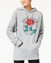 Hybrid Juniors' Wild Rose Graphic Hoodie