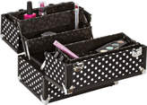 Ulta Caboodles Black/White Dots 10 Case