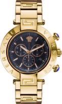 Versace Reve Chrono Collection VQZ090015 Men's Stainless Steel Quartz Watch