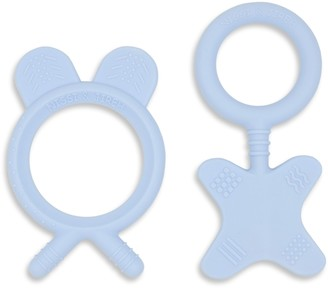 Nissi & Jireh Soft Silicone Baby Teether, Set of 2