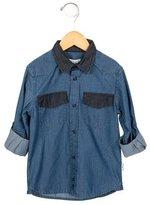 Little Marc Jacobs Boys' Denim Button-Up Shirt w/ Tags