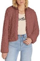 Billabong Women's Keeps Faux Fur Jacket