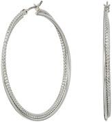 GUESS Twist Hoop Earrings Earring