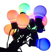 Kurt Adler 10-Light LED Old-Time Party String Lights