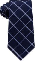 Club Room Men's Grid Silk Tie, Created for Macy's