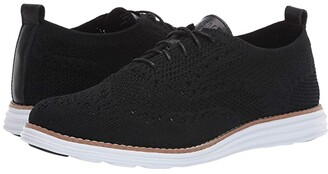 Cole Haan Original Grand Stitchlite Wing Oxford (Black Knit) Women's Shoes
