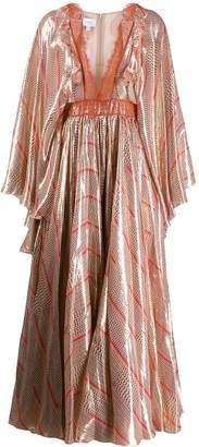 Giambattista Valli Printed Kimono Dress