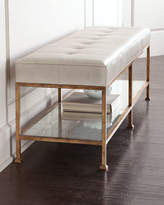 John-Richard Collection Maxine Biscuit-Tufted Bench