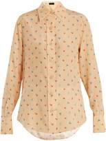 Joseph New Garcon floral-print silk shirt