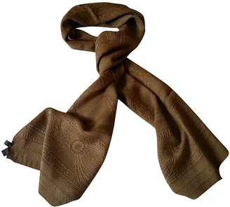 Liberty of London Designs Camel Silk Scarves