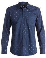 Quiksilver NEW QUIKSILVERTM Mens Everyday Mini Motif Long Sleeve Shirt Tops