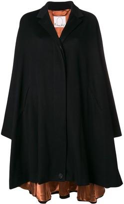 Romeo Gigli X Eggs cashmere oversized coat
