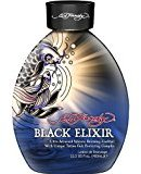 Ed Hardy 2012 Black Elixir Silicone Bronzer Tattoo Fade Protection Tanning Lotion 13.5 oz by BEAUTY