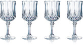 Longchamp Cristal D'Arques Set of 4 Goblets