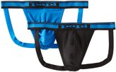 Papi Men's 2-Pack Cotton Stretch Jock Strap
