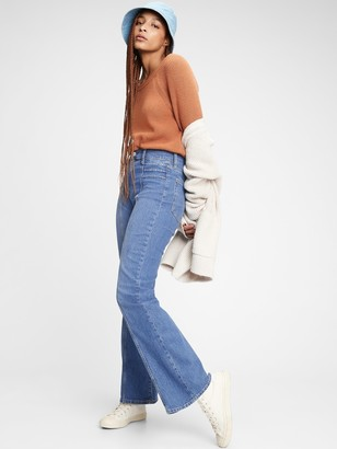 Gap High Rise Vintage Flare Jeans
