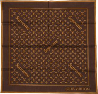 Louis Vuitton Monogram Bandana 'Louis Vuitton X Supreme'