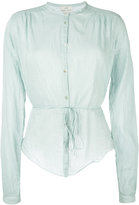 Forte Forte belted shirt - women - Silk/Cotton - 0