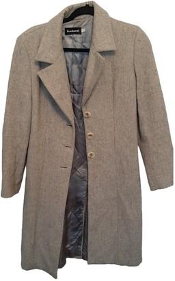 Cacharel Grey Wool Coats