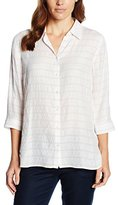Gerry Weber Women's Martinique Striped 3/4 Sleeve Blouse