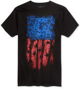 American Rag Men's Brush Flag Graphic T-Shirt, Created for Macy's