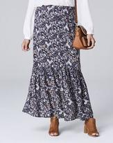 Long Skirt With Floral Print - ShopStyle