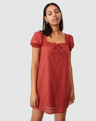 Cotton On Woven Alena Smock Mini Dress